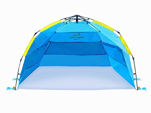 Arcshell Premium Extra Large Pop Up Beach Tent Upf 50