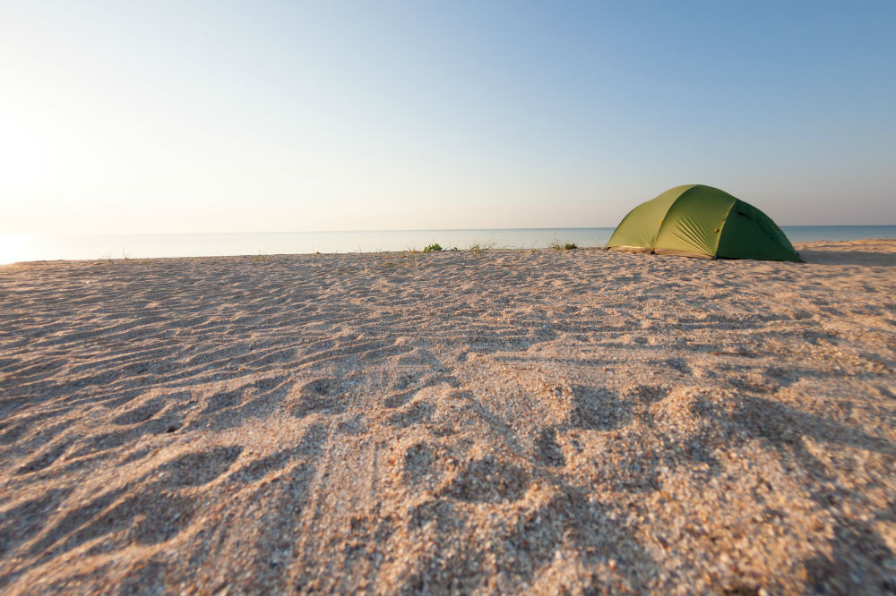 Beach Tent Or Umbrella