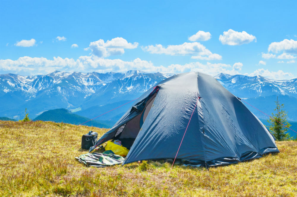 Can You Pitch A Tent Anywhere